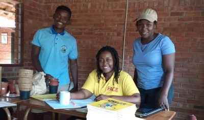 Conservation educators at SCEC Zim